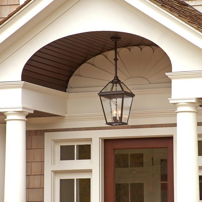 Lantern 14 Wide Solid Stem Exterior Pendant Light Porch Light Fixtures Hanging Porch Lights Entry Lighting Front porch pendant light