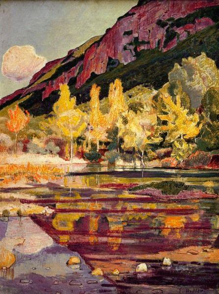 Ferdinand Hodler - Symbolism - Switzerland - Landscape