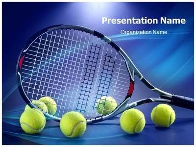 Tennis Racket Powerpoint Template Is One Of The Best Powerpoint