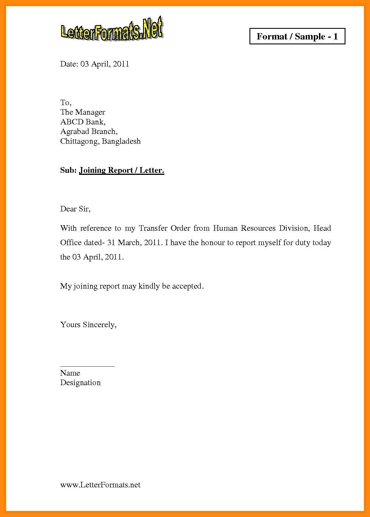 New Job Appointment Letter format Pdf Lettering, Word