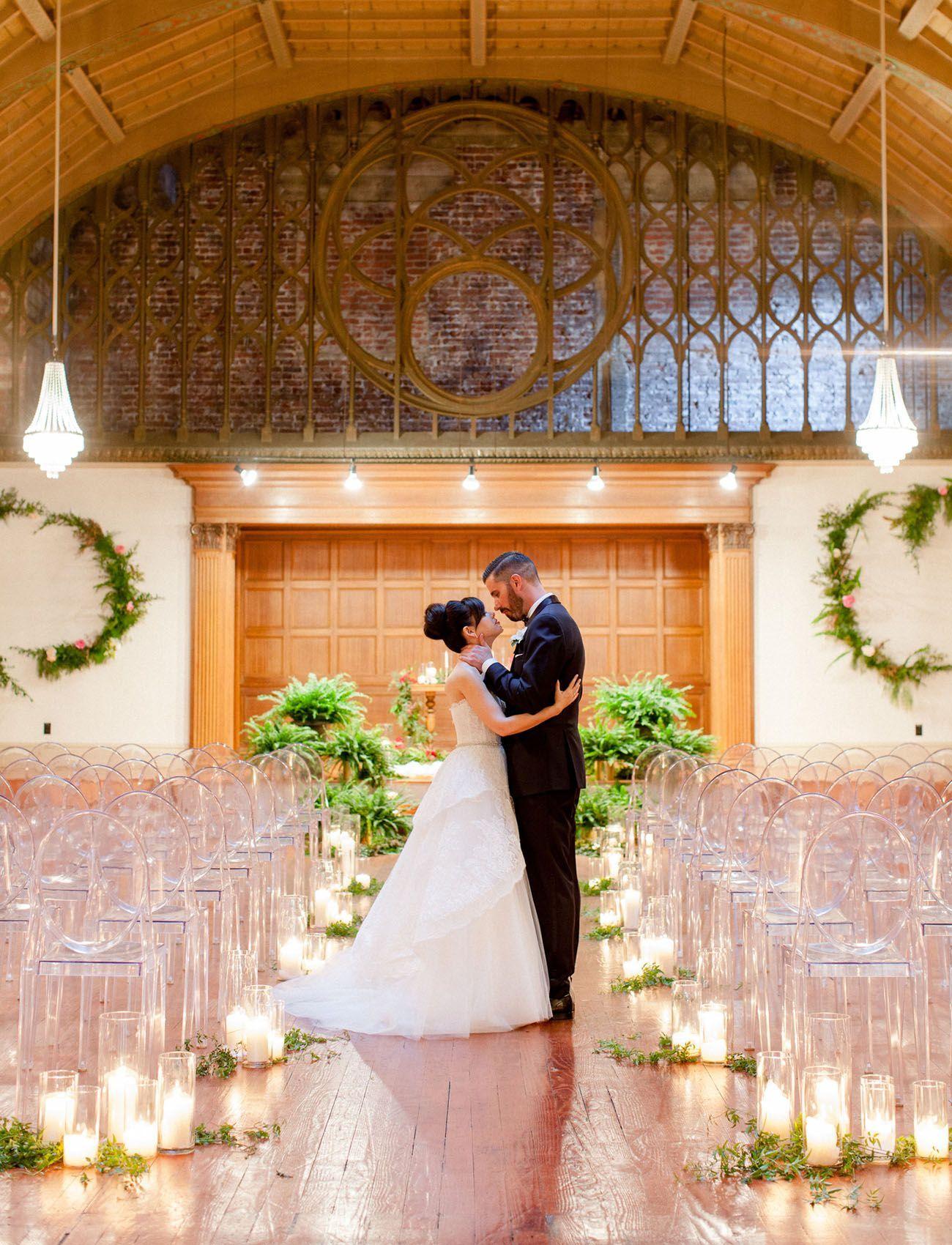 Modern Wedding At The Loft On Pine Jennifer Brian Green Wedding Shoes Wedding Modern Wedding Wedding Ceremony