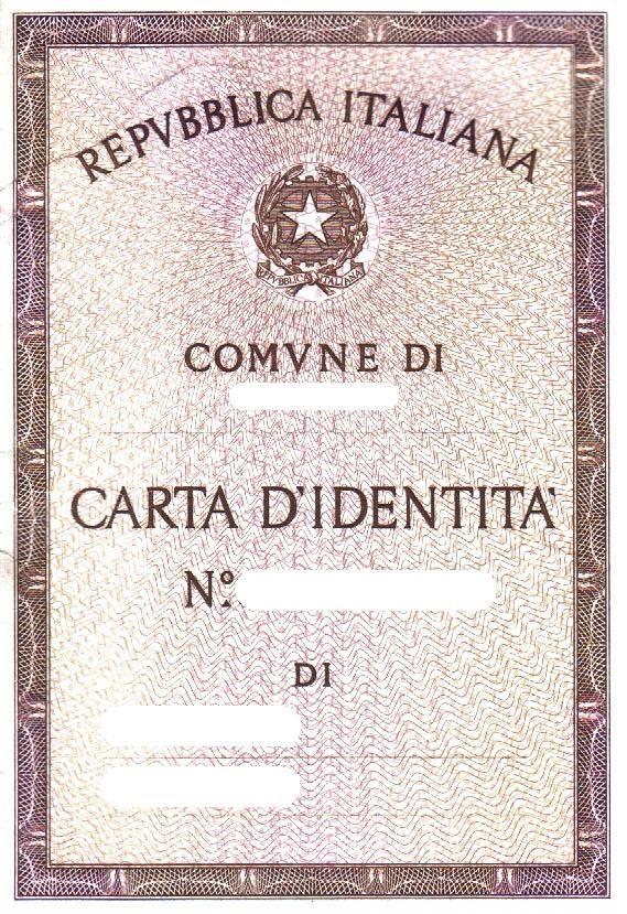 Eccezionale Risultati immagini per disegni di carta d'identità per bambini  RE71