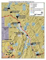 Indian Creek Utah Map.Indian Creek Camping Map Labor Day Pinterest Indian Creek