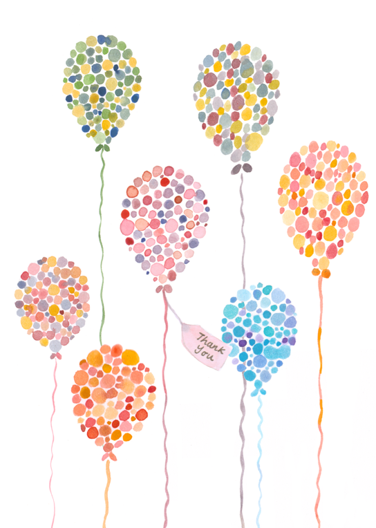 how to draw birthday balloons