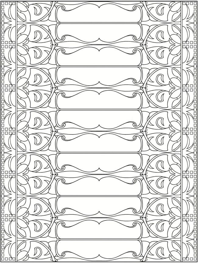 Welcome to Dover Publications + Creative Haven Art Nouveau