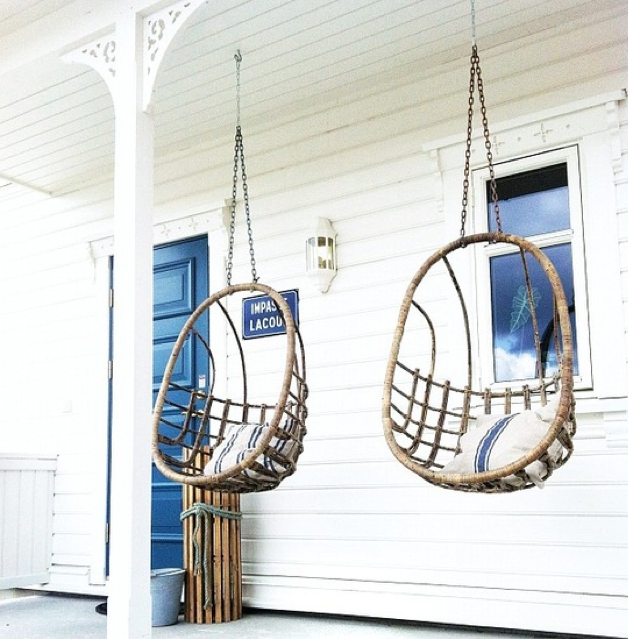 Why Your Summer Dreams Should Inspire Fall Designs. Swing ChairsHanging  ChairsPorch ...