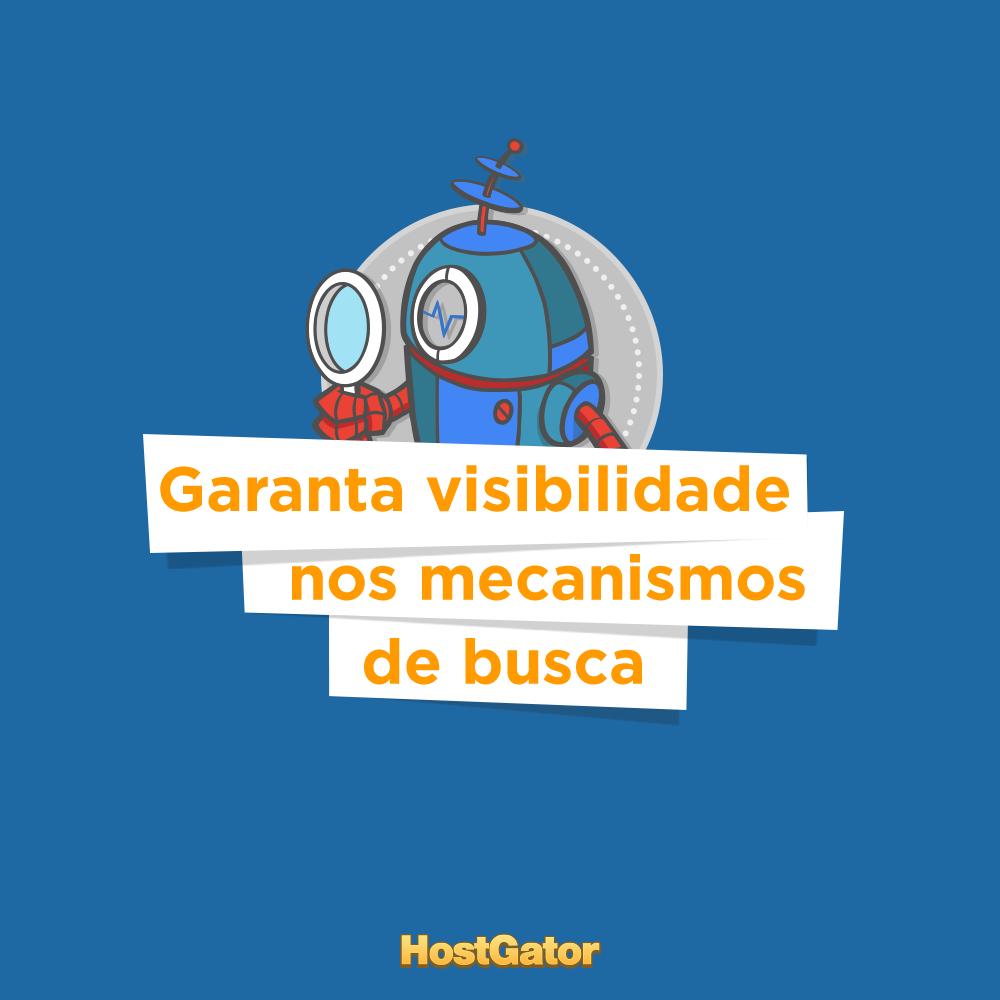 Garanta a visibilidade do seu site conhecendo como os mecanismos de busca funcionam. Além de conhecer mais sobre SEO. Acesse o post no blog