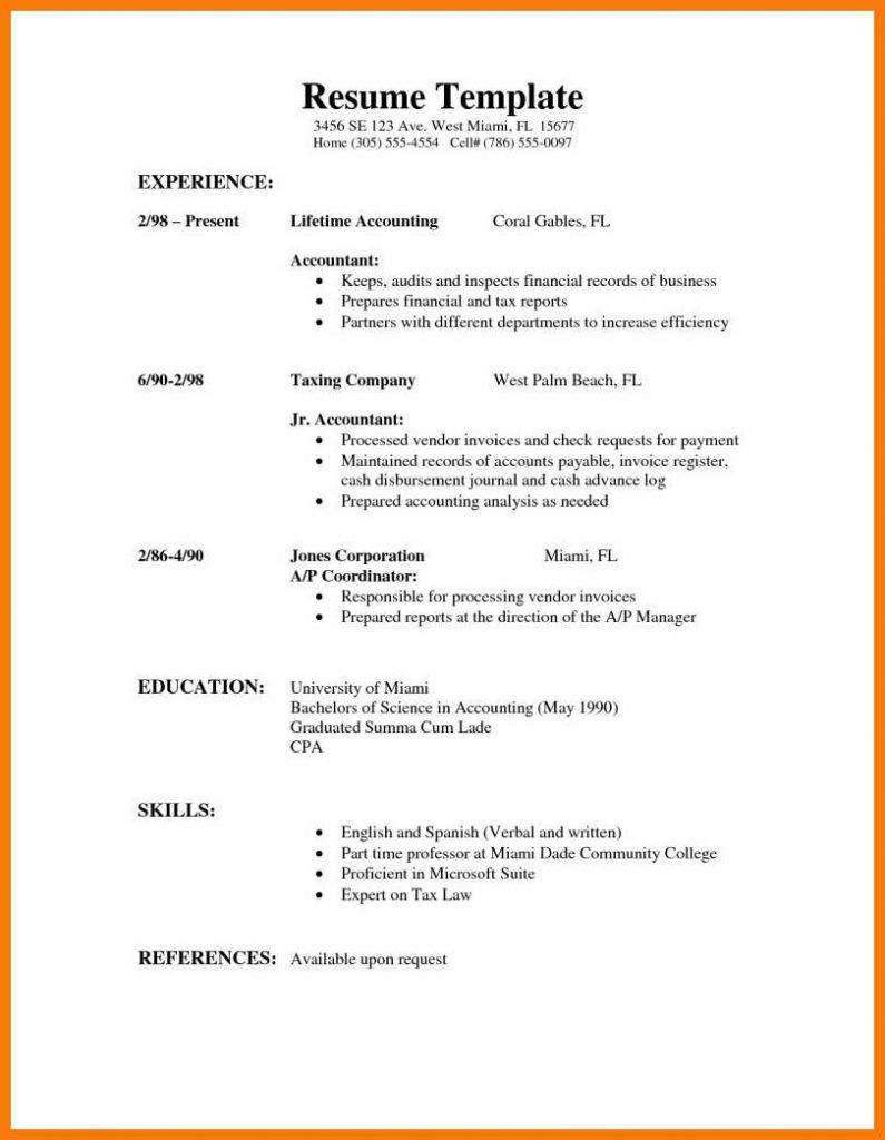 Writing Tips To Make Resume Objective With Examples Job Resume Template Resume Cover Letter For Resume