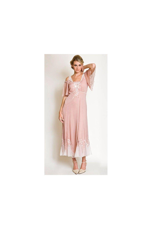 Al nataya vintage offshoulder dress sold out country