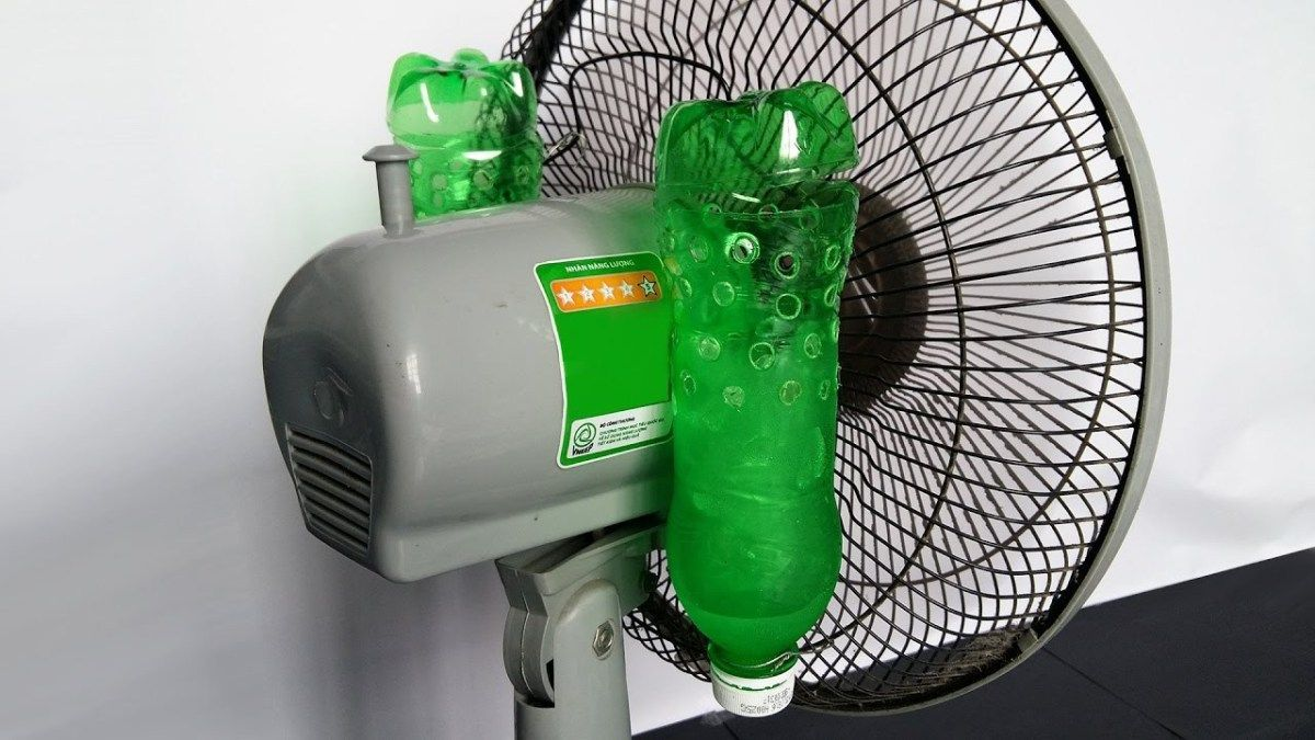 How To Make Your Own Air Conditioner At Home Bahçe en 2020