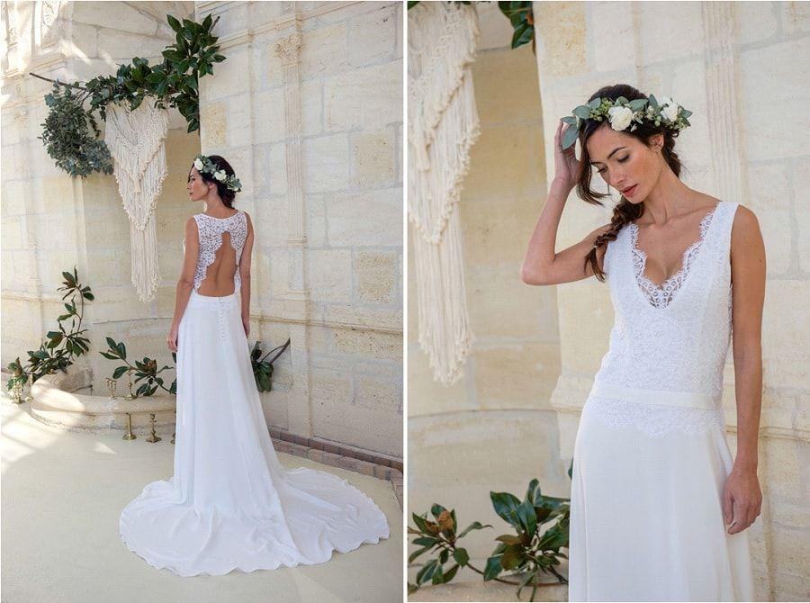 Creatrice de robe de mariee bordeaux