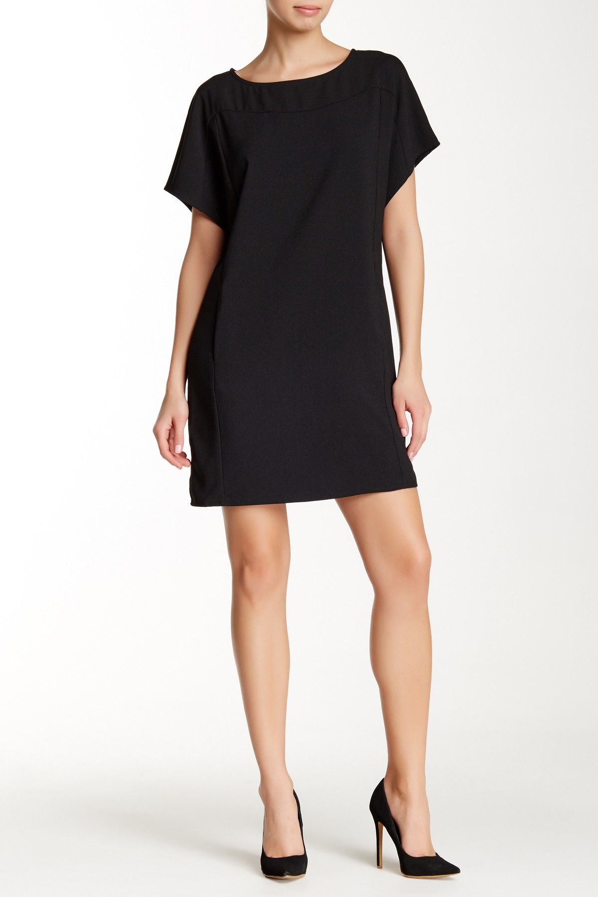 Crepe Dolman Sleeve Dress by Lilla P on @nordstrom_rack