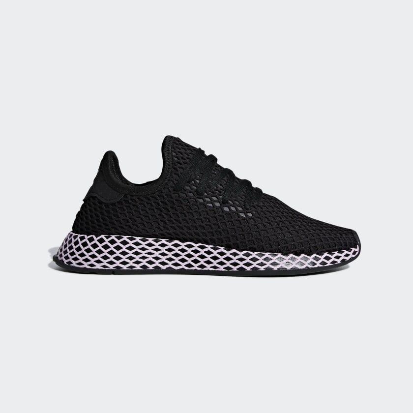 Deerupt Shoes Black B37602 | Adidas shoes women, Minimalist