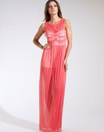 Lipsy Lace Top Maxi Dress £55.00