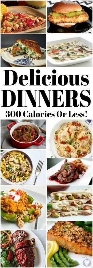 These 300 Calorie or Less Dinner recipes will help kick-start the 'New You' this year! | #recipe #chicken #diet #keto #lowcarb #healthy #lowfat #newyear #newyou