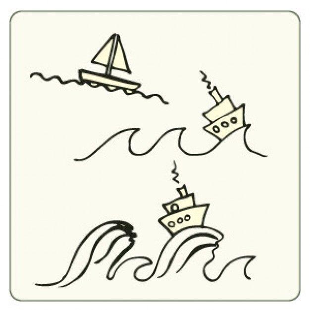 drawing boats