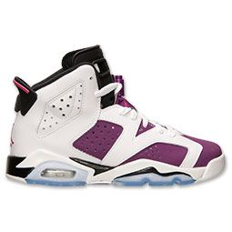 sale retailer 998de 01060 Girls' Grade School Air Jordan Retro 6 Basketball Shoes ...