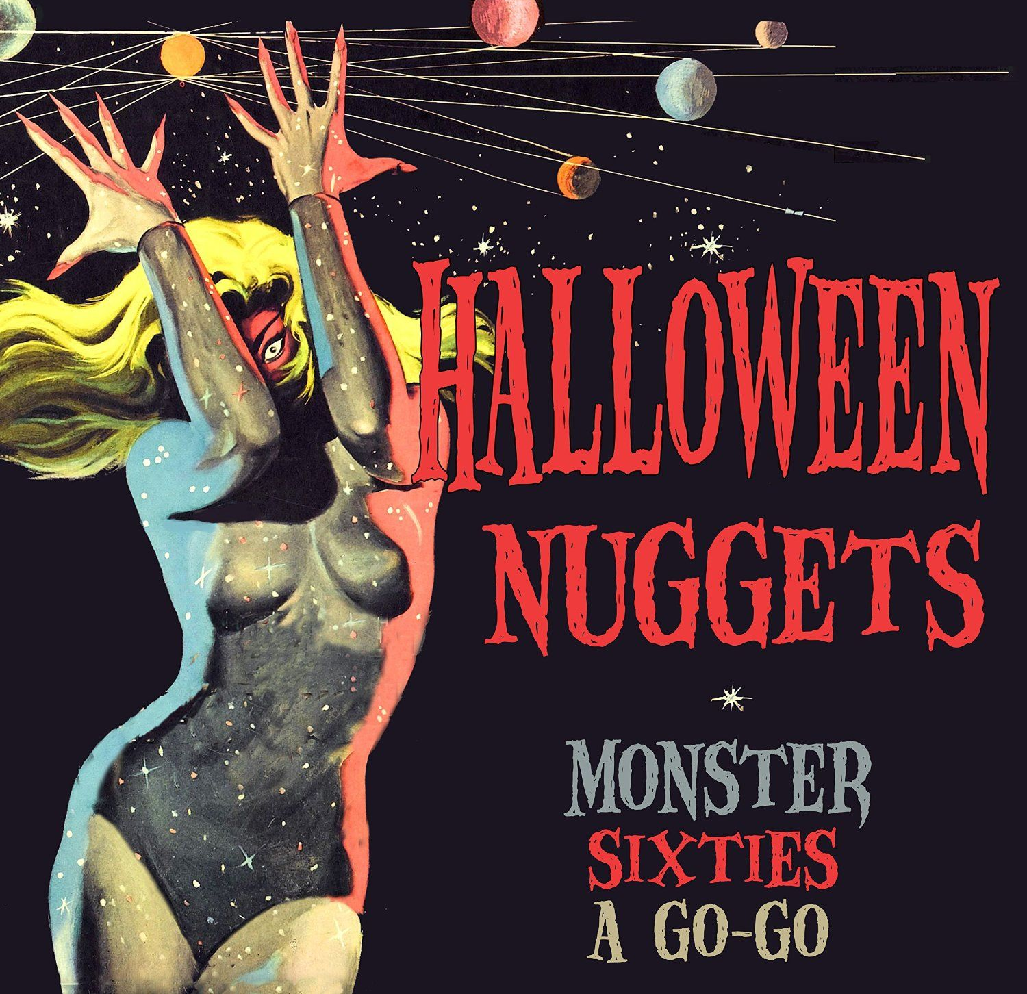 Various Halloween Nuggets Monsters Sixties A