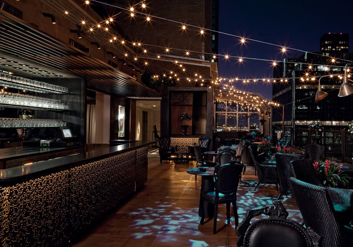 Midtown Manhattan Nyc Rooftop Bar & Lounges Kimberly