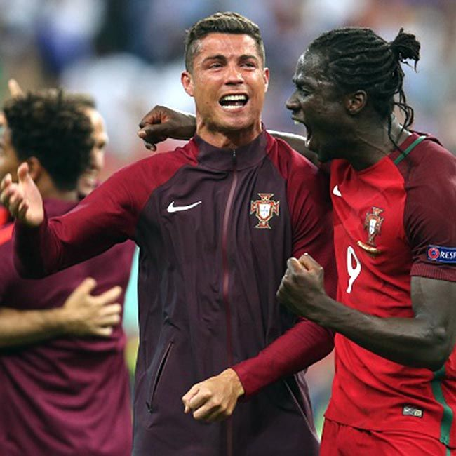 Eder and Cristiano Ronaldo clicked during UEFA Euro Cup 2016 | UEFA Euro Cup 2016 finals: When ...