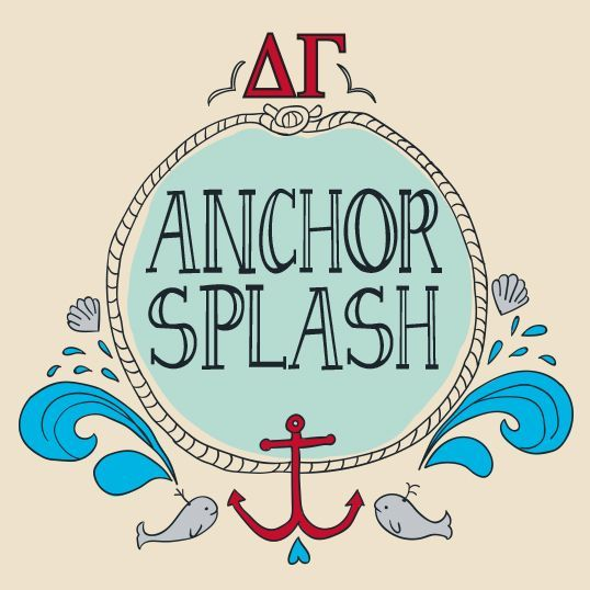 Delta Gamma | DG | Whales | Anchor Splash | Philanthropy | Greek Life | Do Good | shirtsforgreeks.com