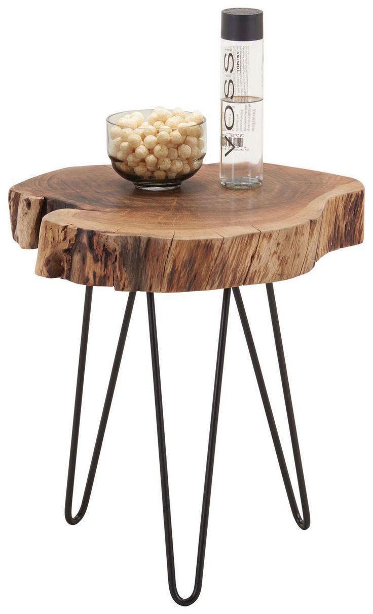 Beistelltisch Akazie Massiv Freiform Akaziefarben Schwarz Online Kaufen Xxxlutz Beistelltisch Couchtisch Holz Diy Esstisch