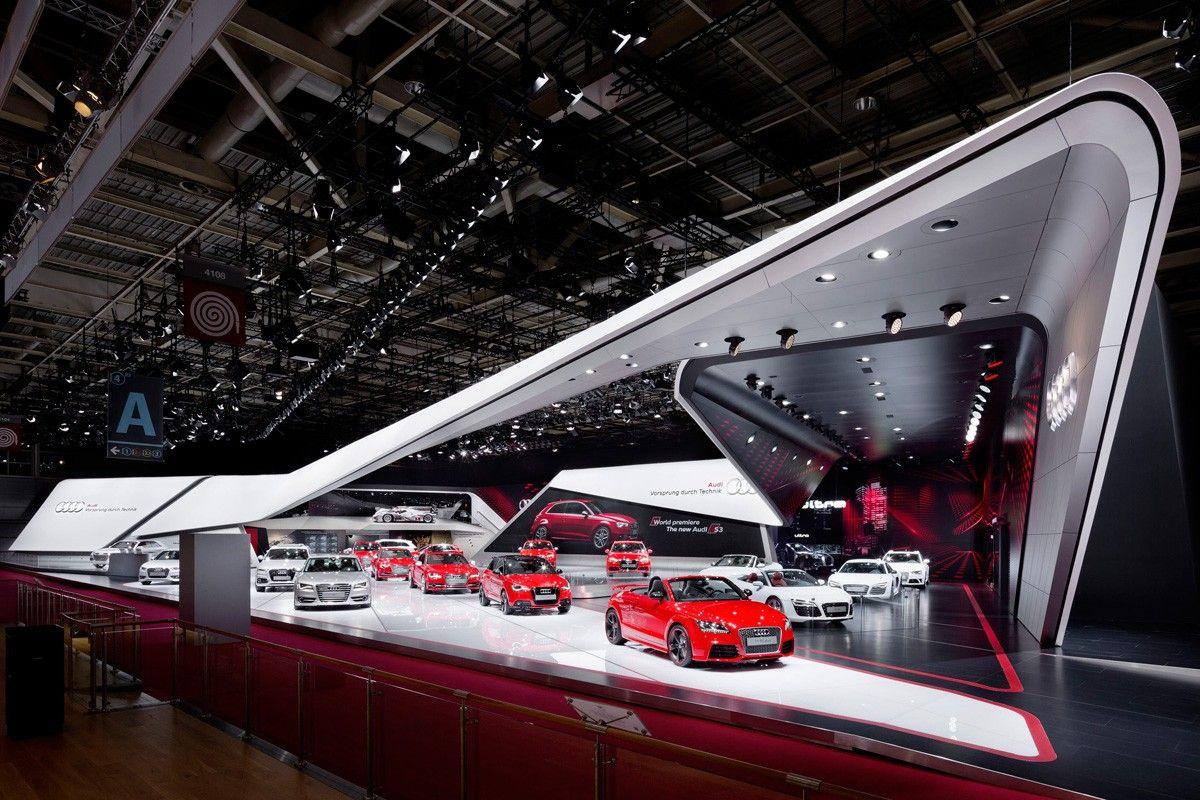 Audi - Mondial de l'Automobile Paris 2012 | Schmidhuber | Exhibition Design