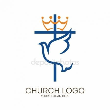 Church logo christian symbols cross and dove holy spirit church logo christian symbols cross and dove holy spirit thecheapjerseys Images