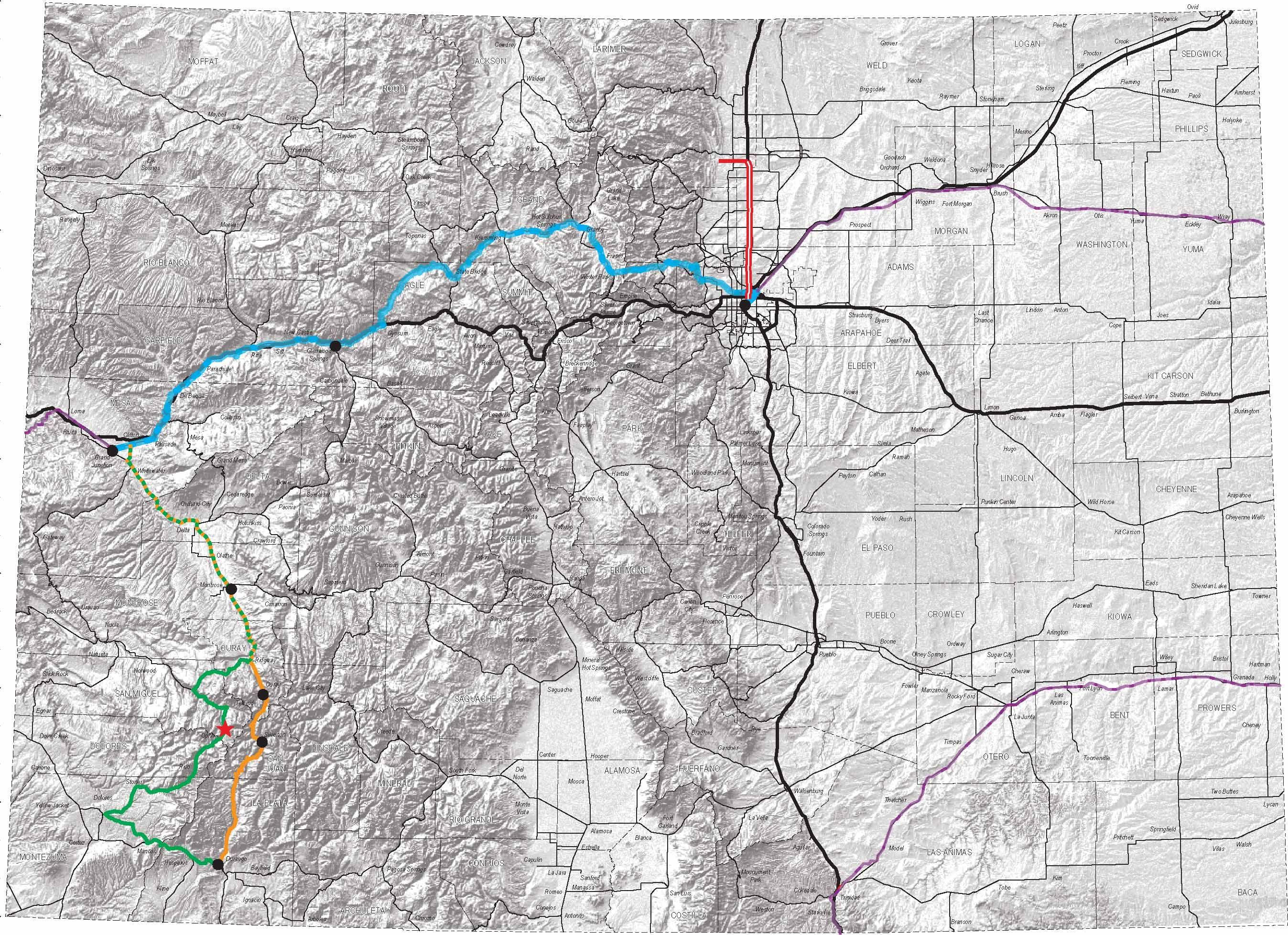 denver colorado elevation map Denver Colorado Topography And Transportation Context Urban Mapping Colorado Denver Colorado denver colorado elevation map