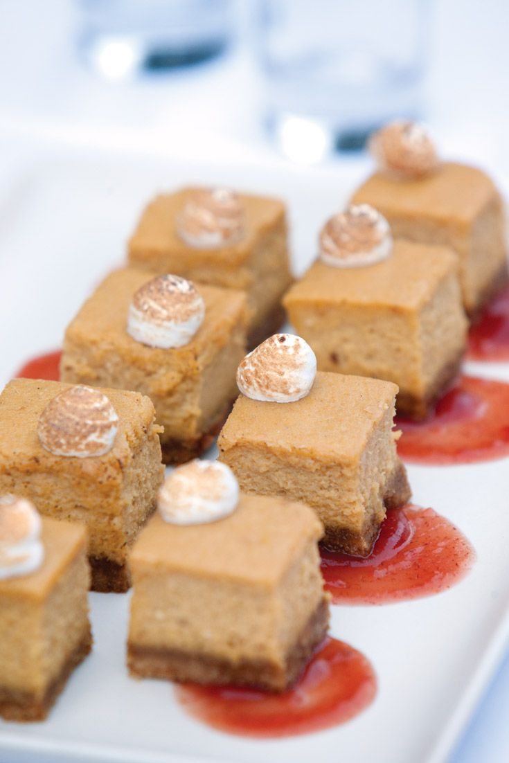 In our October issue, Chef Josh Habiger, of the James Beard Award-nominated restaurant Pinewood Social in Nashville, TN, shared the recipe for his scrumptious cheesecake dessert that incorporates signature autumn flavors of pumpkin and cranberry. - victoriamag.com