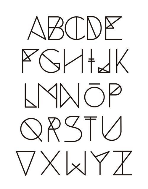 Abecedario Tipos De Letras
