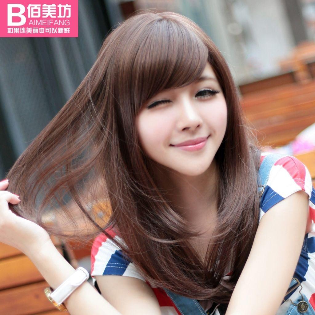 Cute long hair hair pinterest hair korean hairstyles and