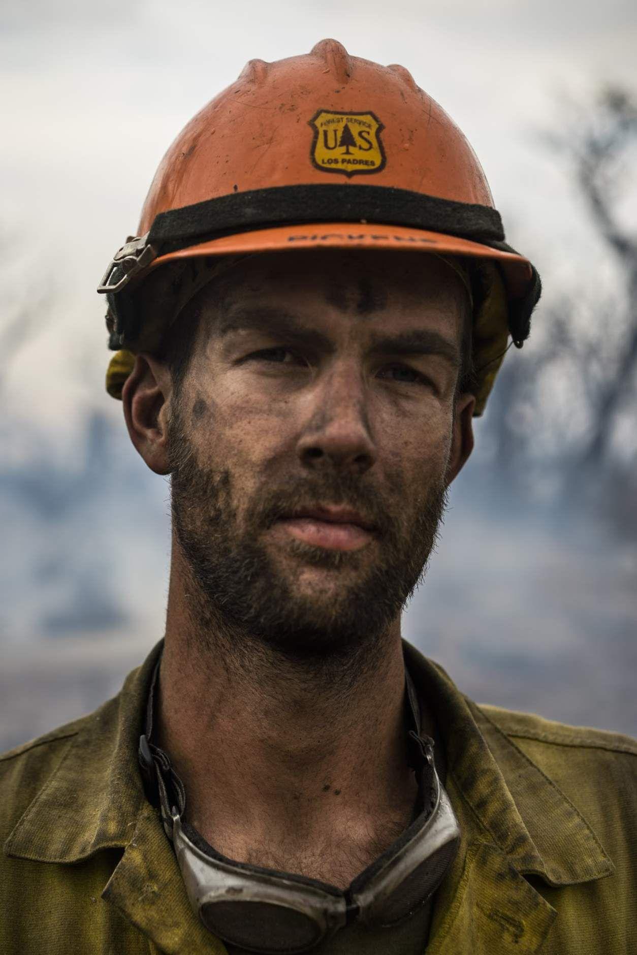 A reallife romance novel hero firefighter Justin Pickens