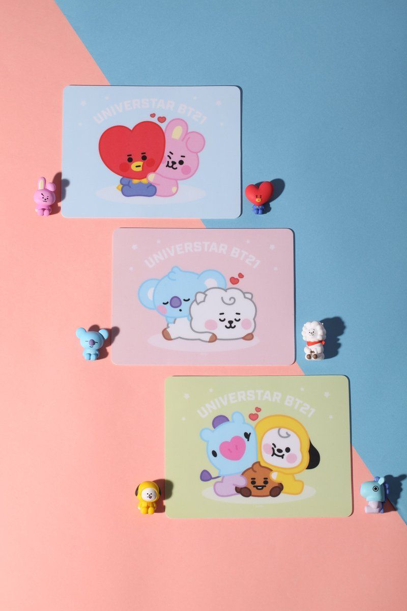 Bt21 x royche baby mouse pads