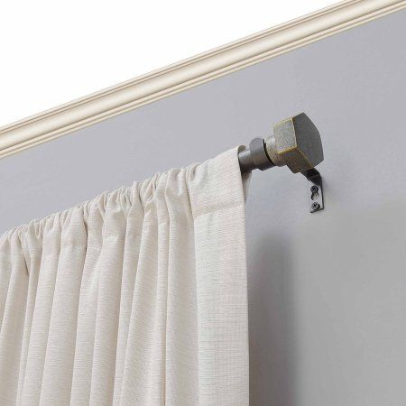 Better Homes And Gardens Industrial Bolt 3 4 Curtain Rod