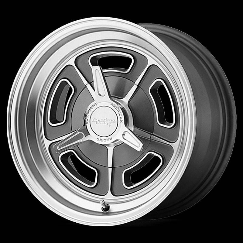 Vn50255012512n Vn502 15x5 5x114 30 Mag Gray Anthracite Machined 12 Mm In 2020 American Racing Wheel Rims Wheel