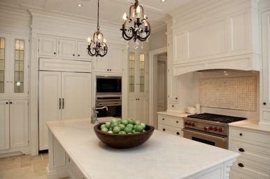 Projects Kitchen Crema Marfil Kitchen Shabby Chic Kitchen