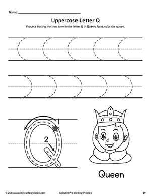 Uppercase letter q pre writing practice worksheet pinterest freeuppercase letter q pre writing practice worksheet practice handwriting expocarfo Choice Image