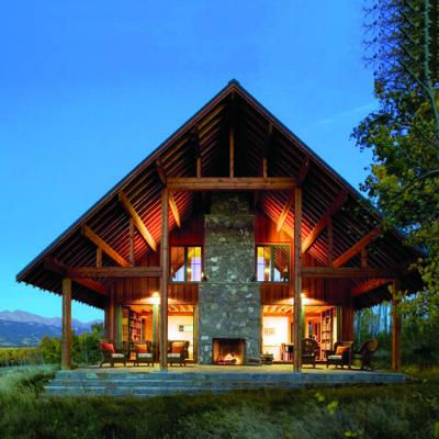Top 15 Iconic Western Home Styles Ranch House Designs Modern Ranch House In The Woods