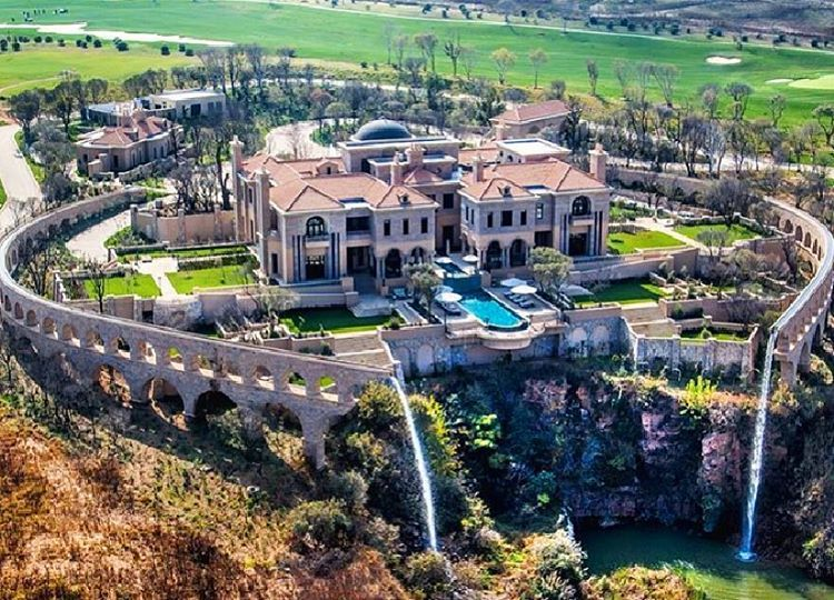 Incredible newly built 32,000 squarefoot mega mansion in