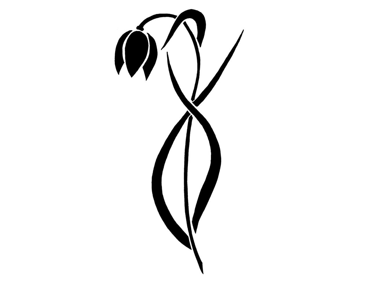 30 of the best virgo tattoo designs tattoo easily - 4182 Free Designs Simple Tribal Flower Tattoo Wallpaper