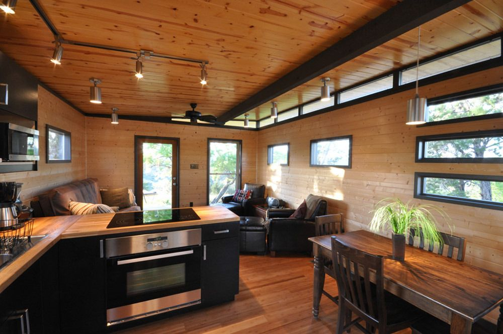 Customer Gallery: Kanga Modern Cabin + W Connecting Porch/breezway   Kanga  Room Systems