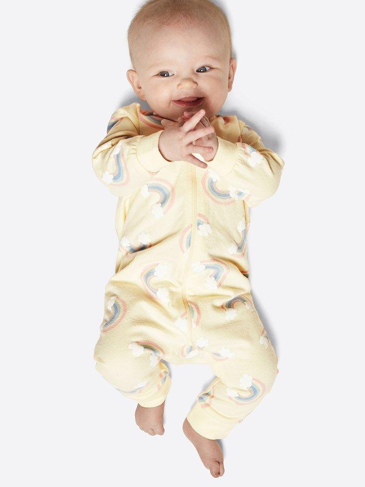 8740d75f1b80 Night zip-pyjamas | 7158644 | Ljusgul | Cubus | Sverige | Baby ...