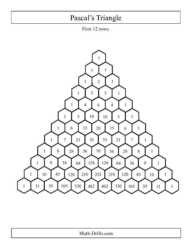 pascal triangle fibonacci
