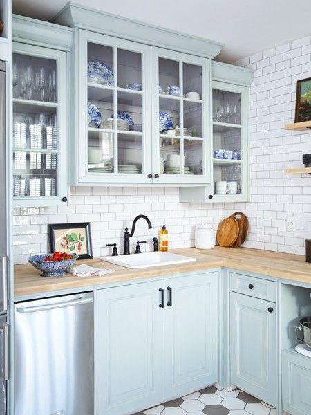 Pin By Anai Gc On Kitchen Ideas New Kitchen Cabinets Kitchen Design Blue Kitchen Cabinets