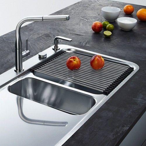 FRANKE Rollmatte SINOS aus Edelstahl   Zubehör   Abtropfmatte - spüle für küche