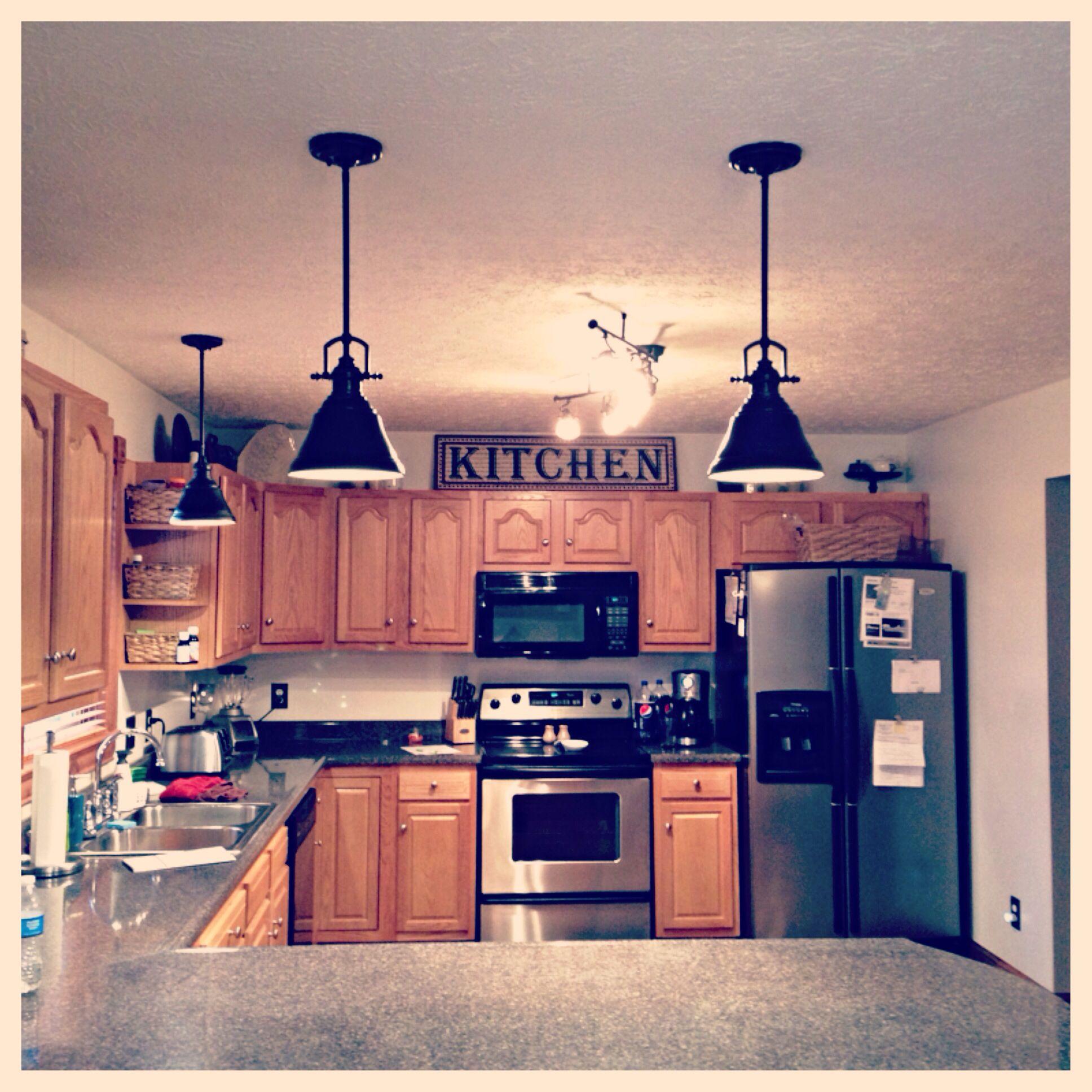 Our Allen Roth Kitchen Lighting Kitchen Kitchen Lighting Kitchen Cabinets