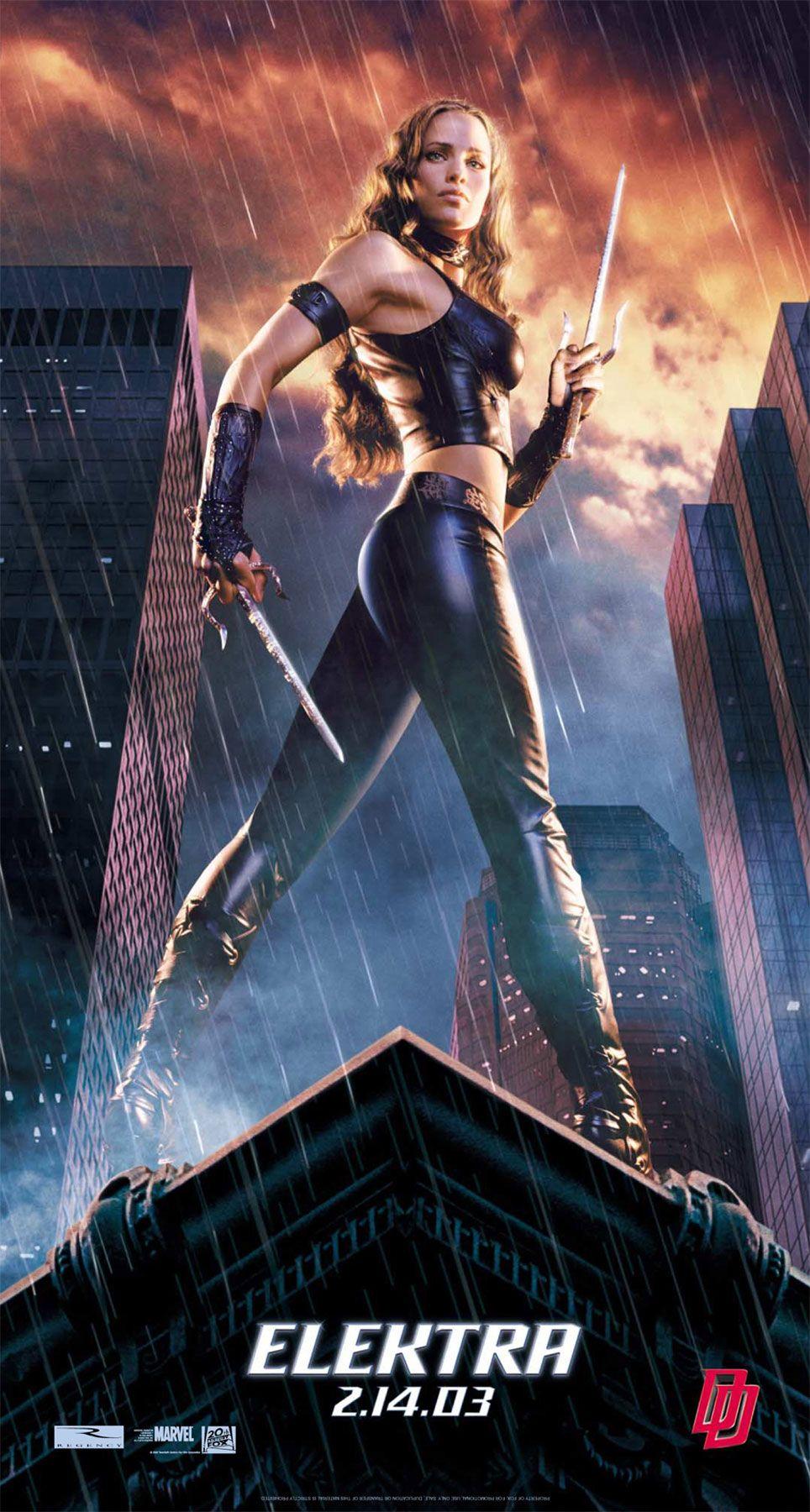 Elektra jennifer Garner Great Original Photo Print Ad! Looks Can Kill