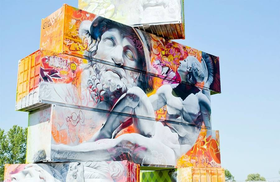 North West Walls Street Art Project