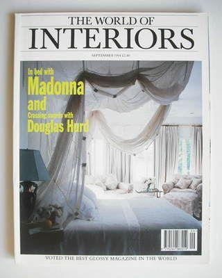 The World Of Interiors magazine - September 1994